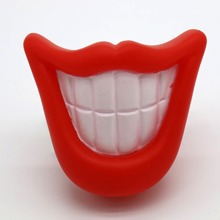 Red Lip Dog Sound Toy