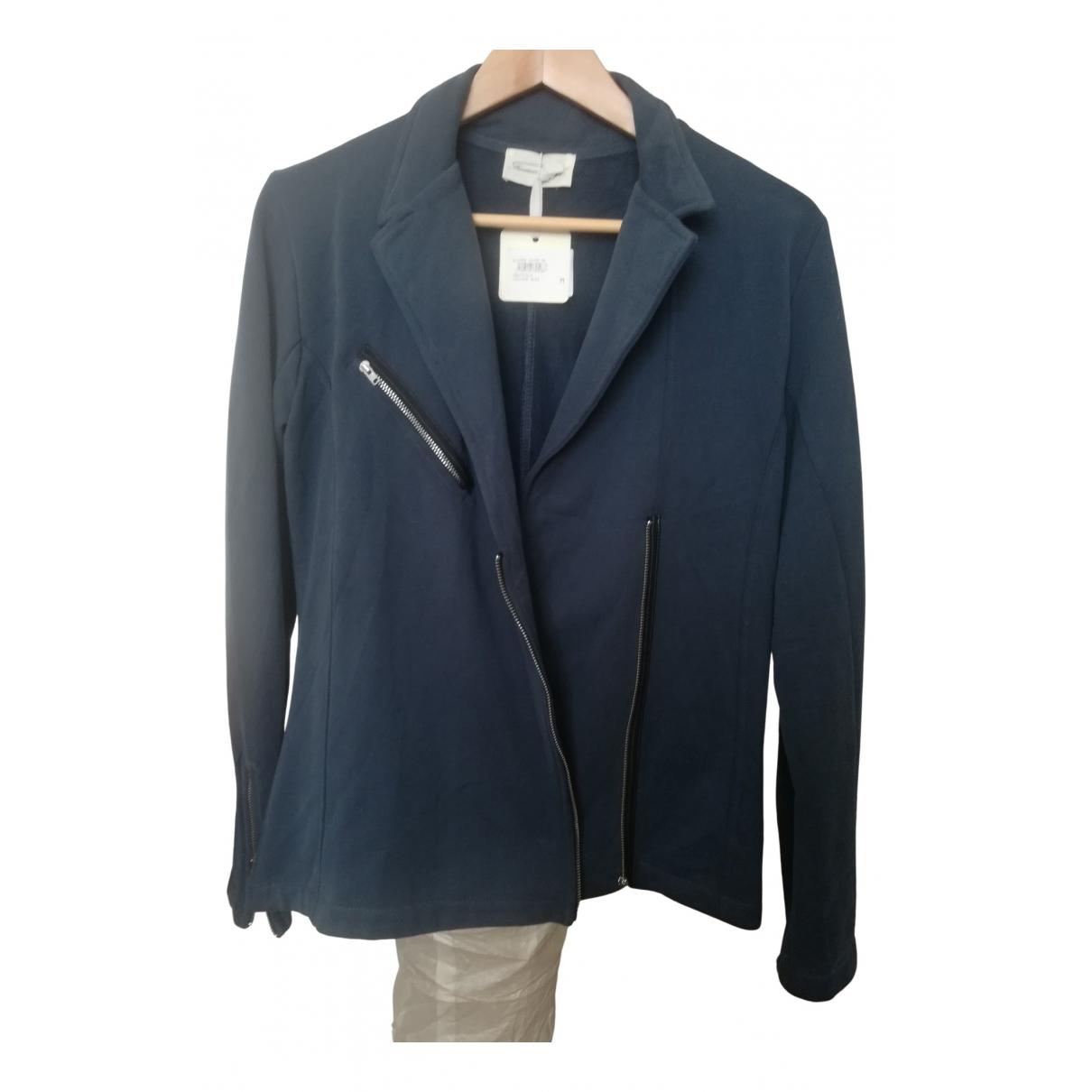 American Vintage - Veste   pour femme en coton - bleu