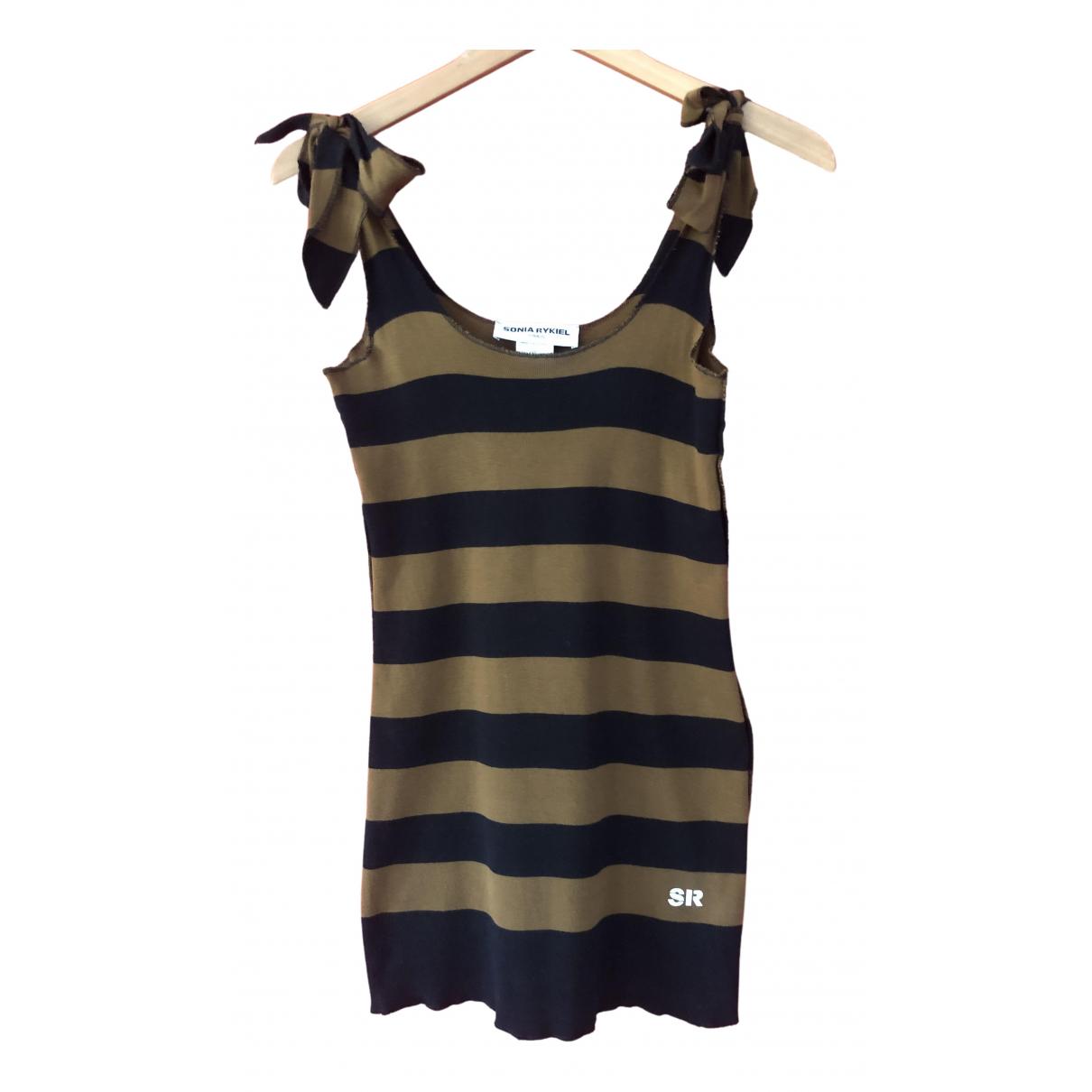 Sonia Rykiel \N Kleid in  Braun Baumwolle