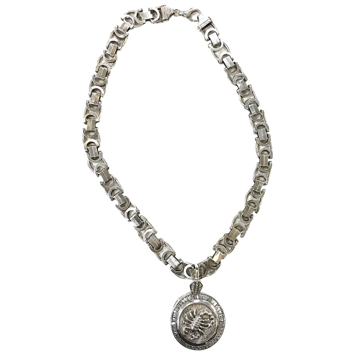 Non Signe / Unsigned Medailles Schmuckstuecke in  Silber Silber