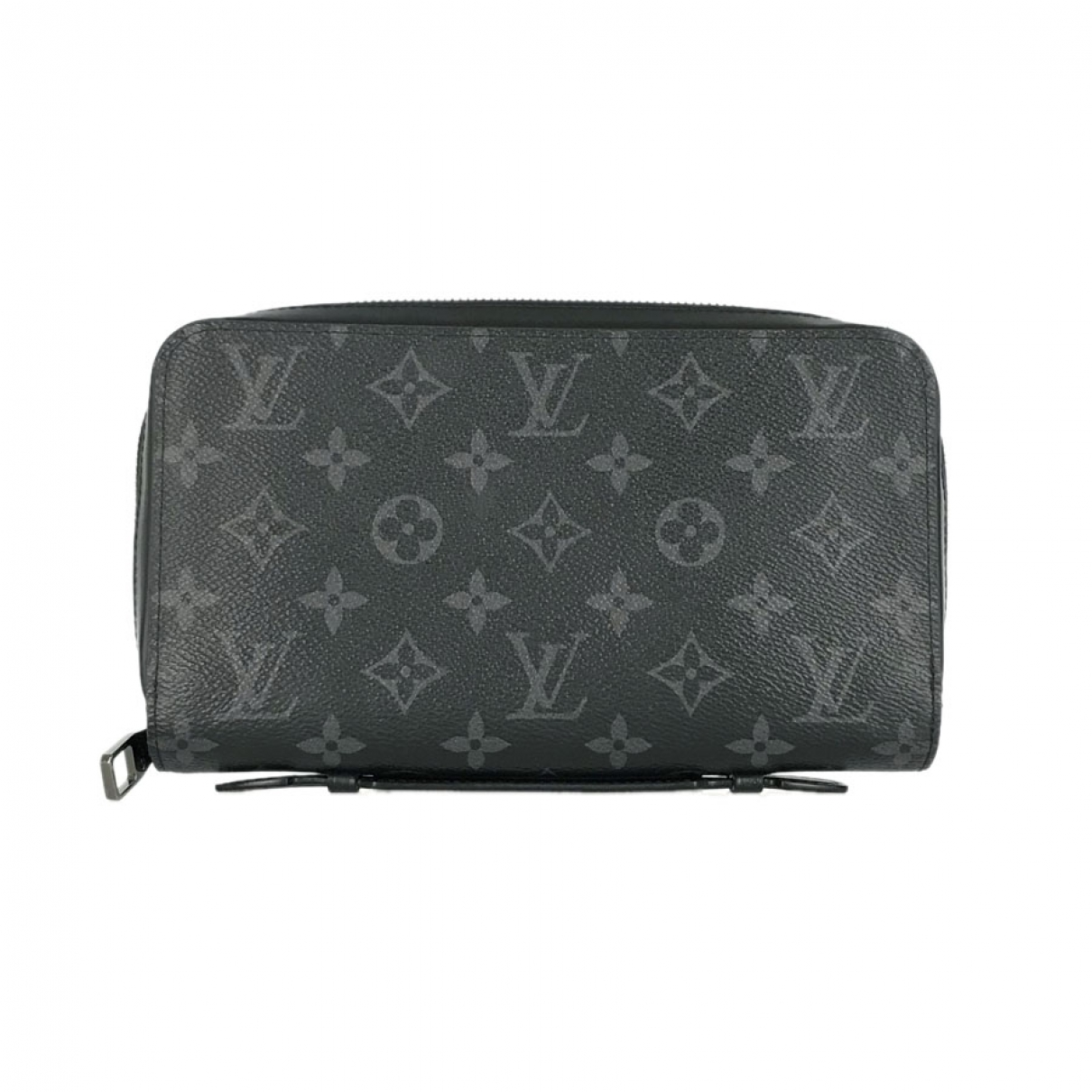 Louis Vuitton Zippy XL Kleinlederwaren in  Schwarz Leinen