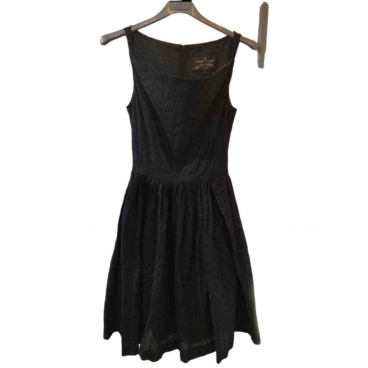 Vivienne Westwood Anglomania \N Kleid in  Schwarz Spitze