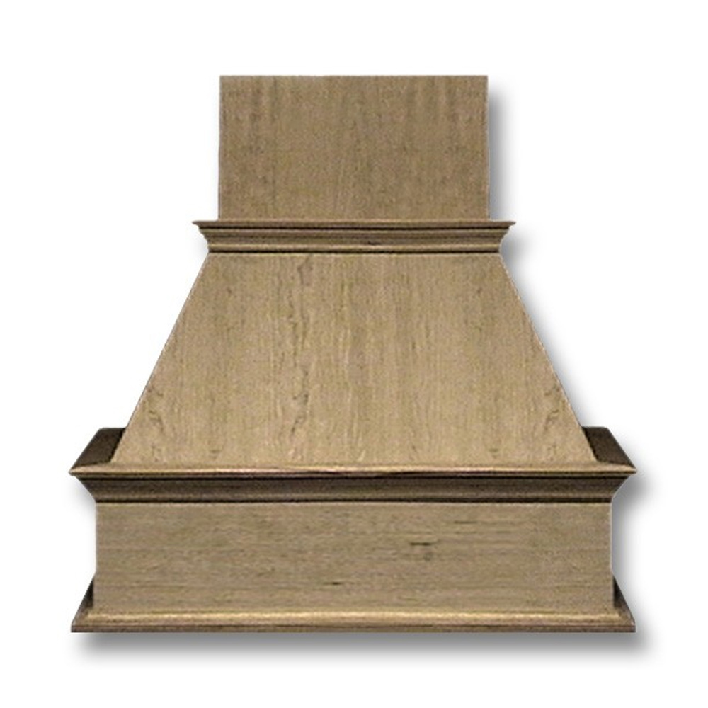 36-in. Wide Decorative Hickory Wood Wall-Mount Range Hood