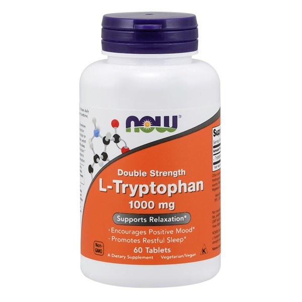 L-Tryptophan 60 Tabs by Now Foods
