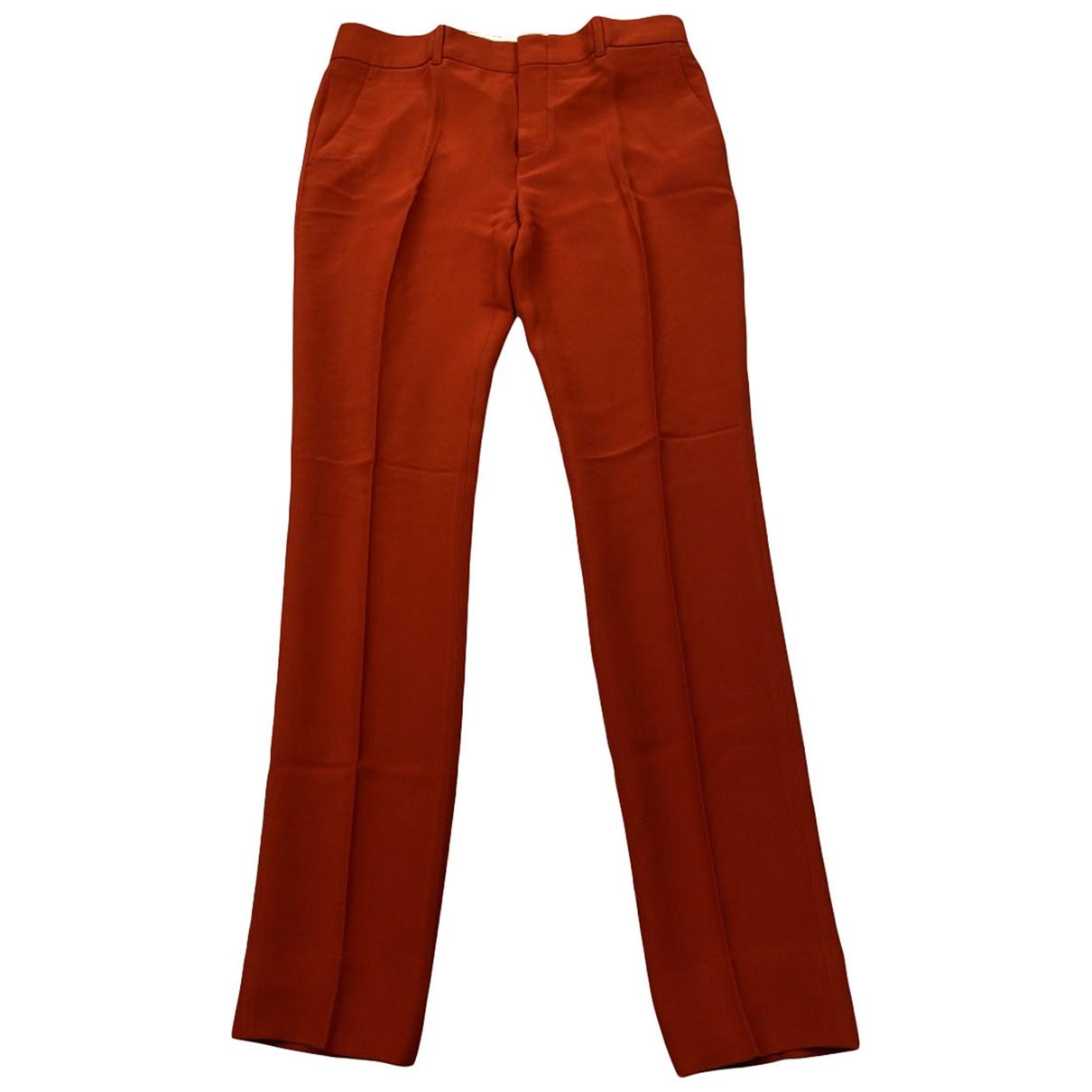 Pantalon de traje de Seda Gucci