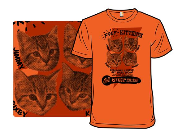 Kitty Gratis T Shirt