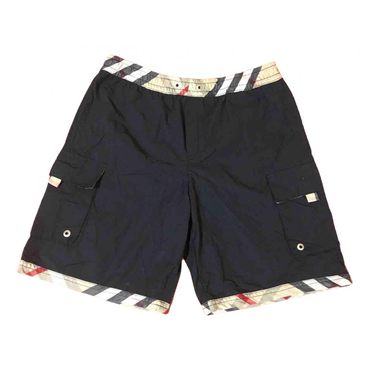Burberry - Short   pour enfant en coton - noir