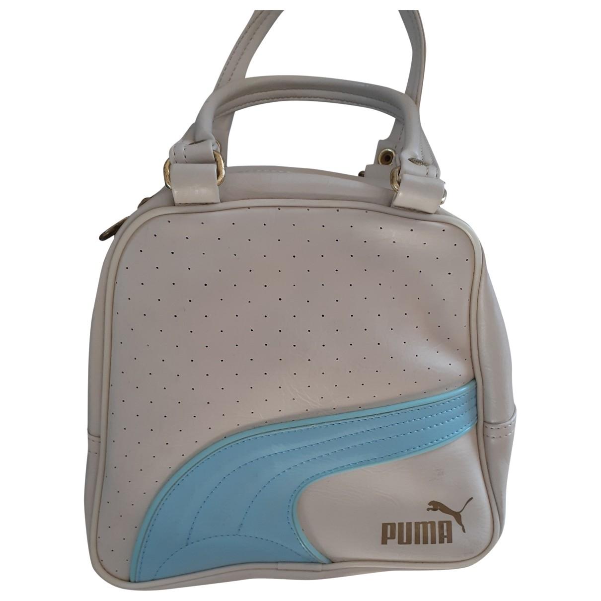 Puma \N Handtasche in  Beige Kunststoff