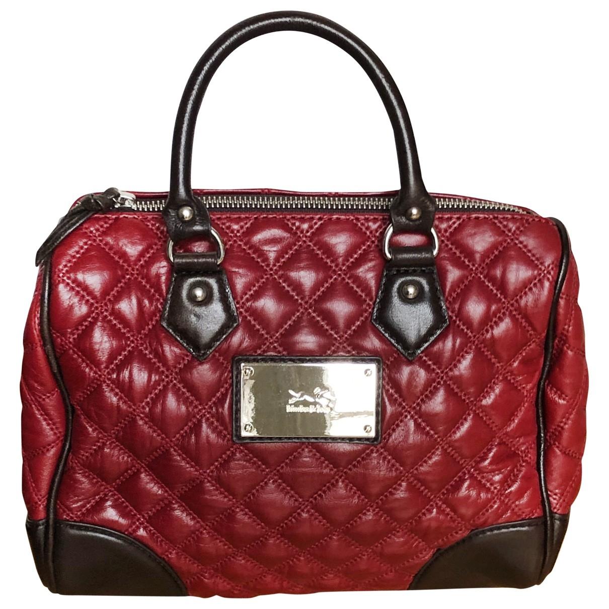Bimba Y Lola \N Handtasche in  Bordeauxrot Leder
