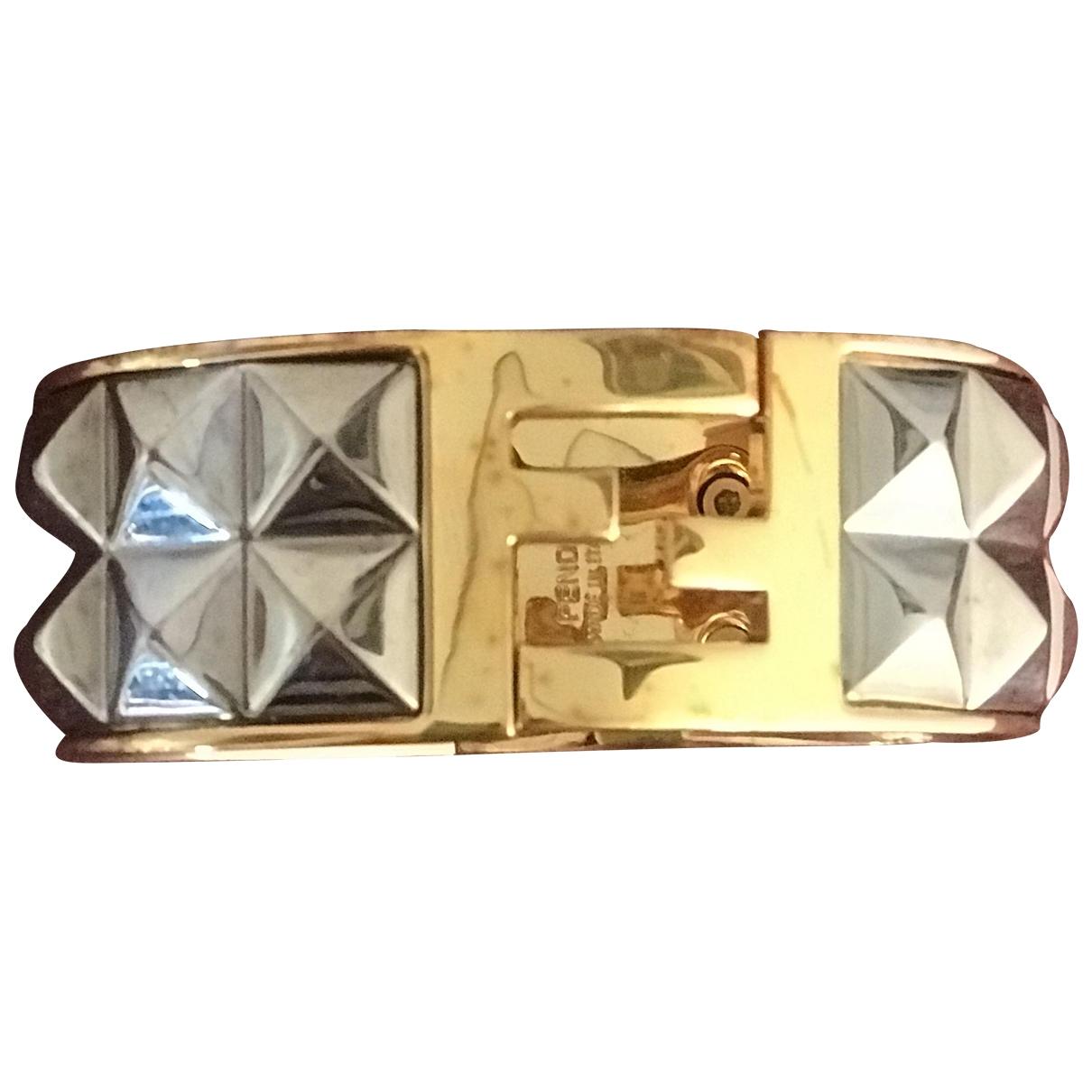 Fendi - Bracelet   pour femme en acier - multicolore