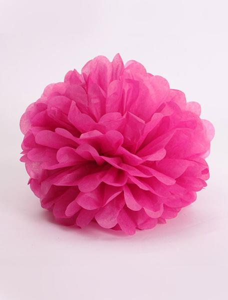 Milanoo Pedazo de bola 5 de boda flor decoracion flor bola papel