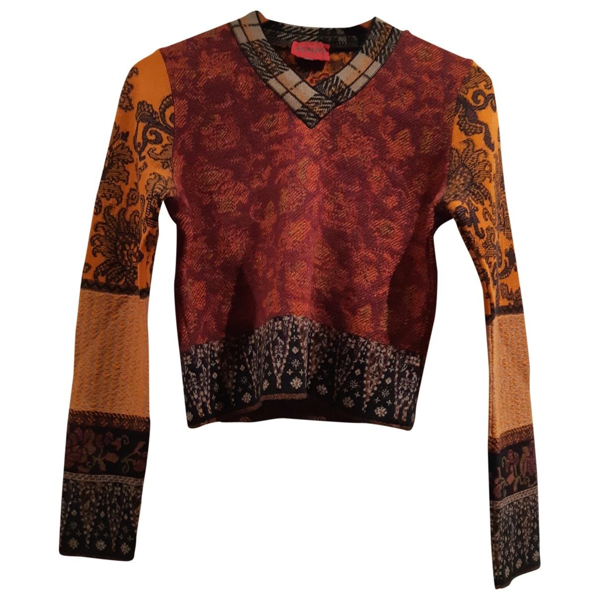Kenzo \N Orange Wool Knitwear for Women L International