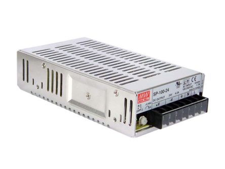 Mean Well , 101W Embedded Switch Mode Power Supply SMPS, 13.5V dc, Enclosed