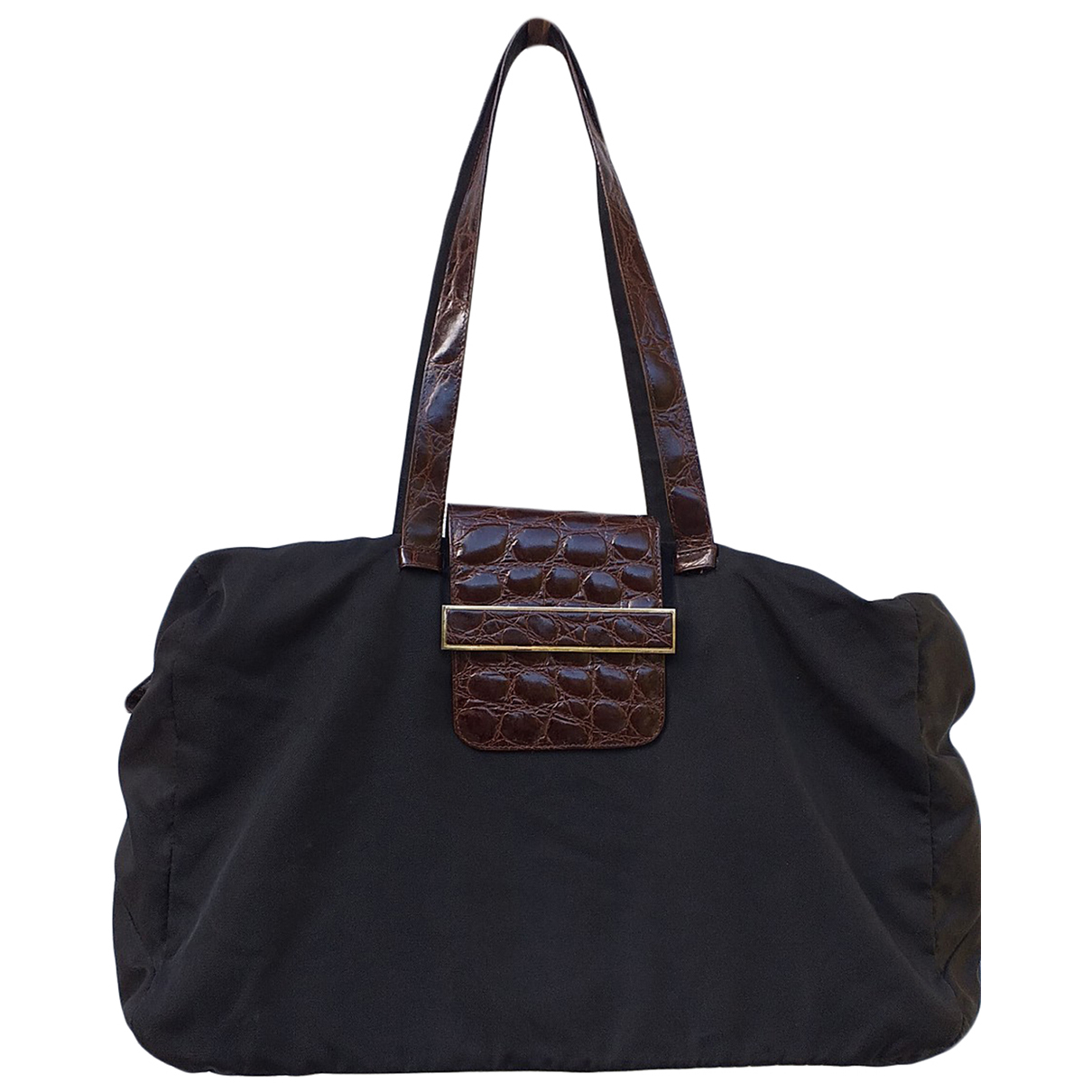 Maliparmi N Black Crocodile handbag for Women N
