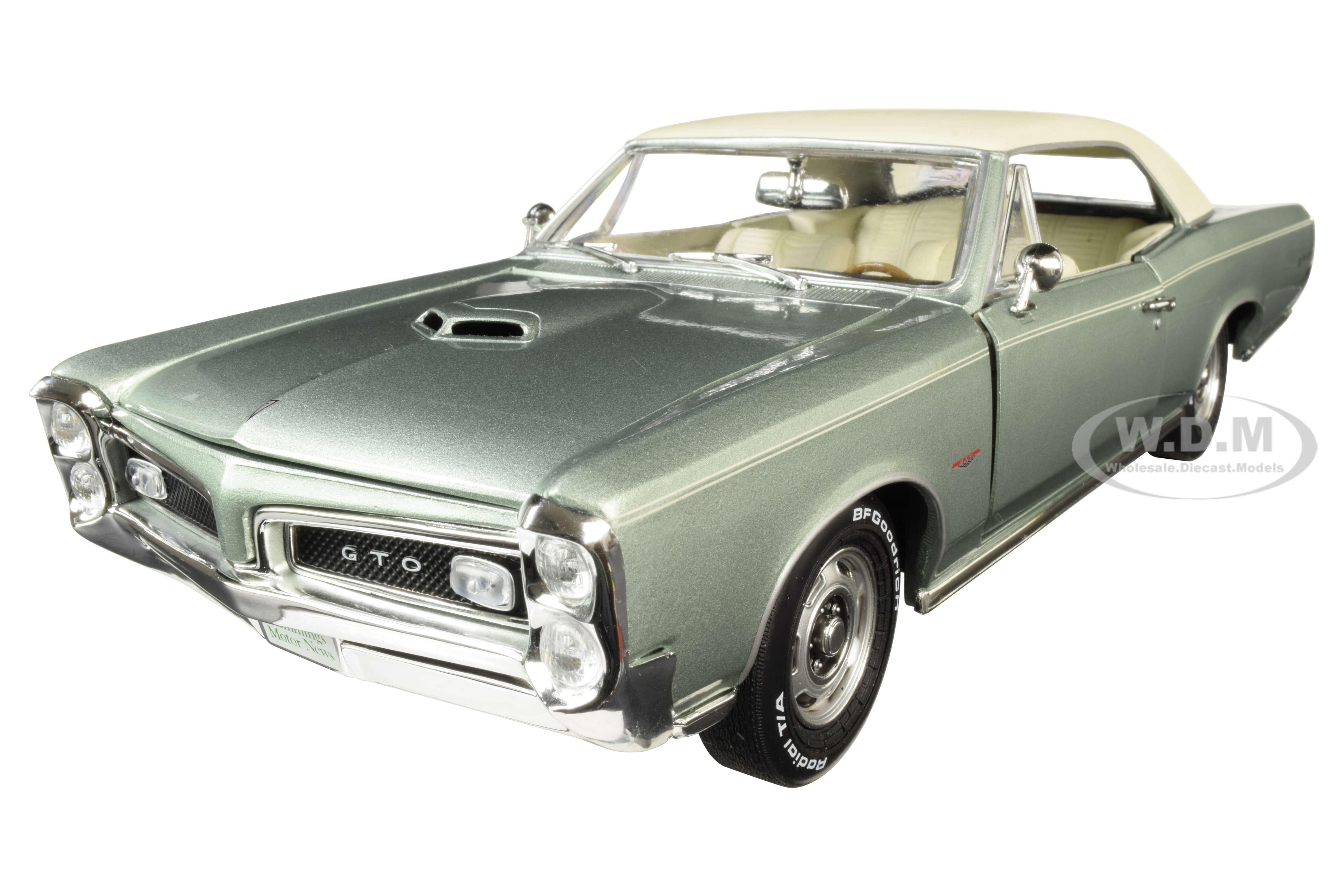 1966 Pontiac GTO Hardtop Palmetto Green Metallic