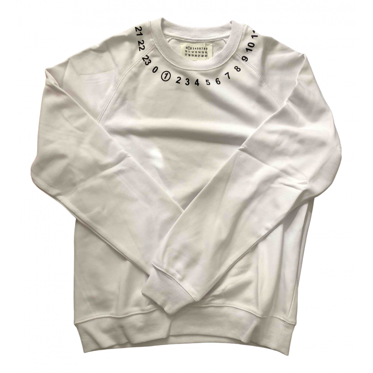 Maison Martin Margiela \N White Cotton Knitwear & Sweatshirts for Men S International