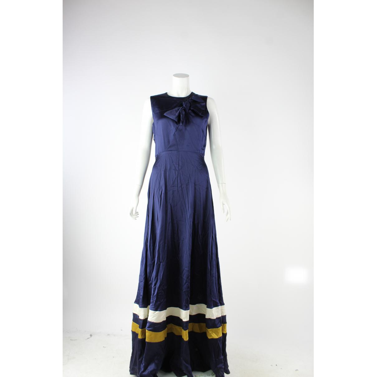 Roksanda N Navy Silk dress for Women 10 US