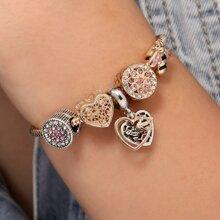 Armband mit Strass & Biene Dekor