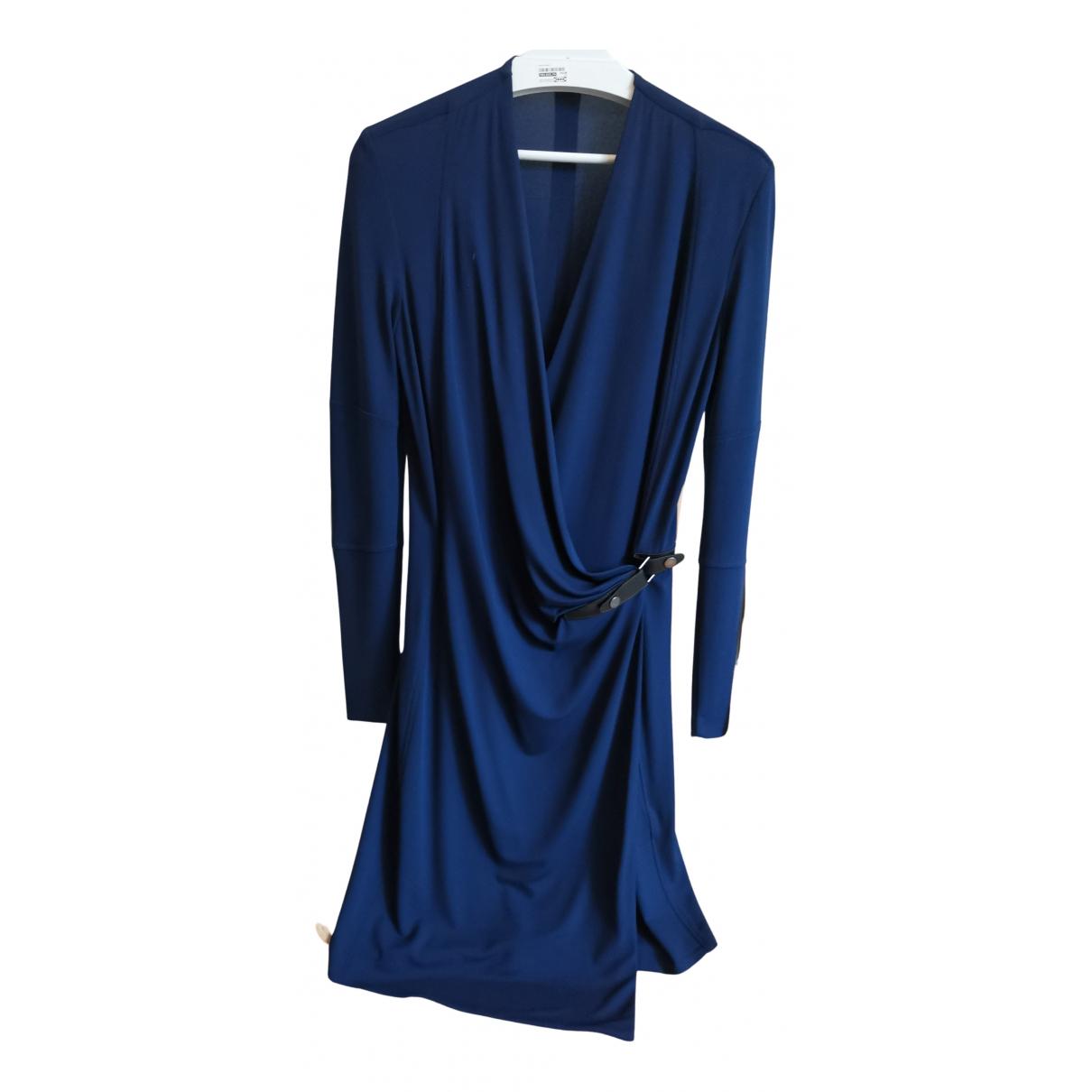 Belstaff \N Kleid in  Blau Viskose