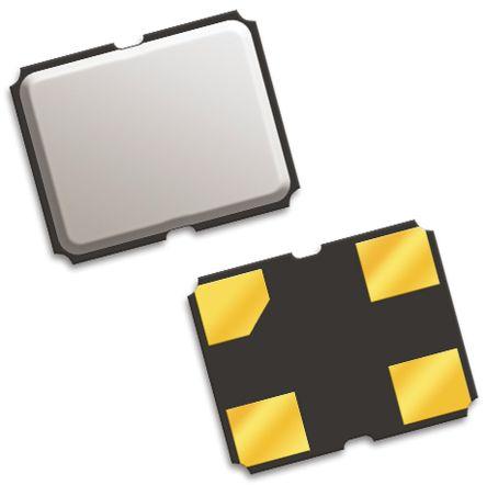 QT Quarztechnik , 24.576MHz Clock Oscillator, ±25ppm HCMOS, TTL, 4-Pin SMD QTX218A24.5760B15R