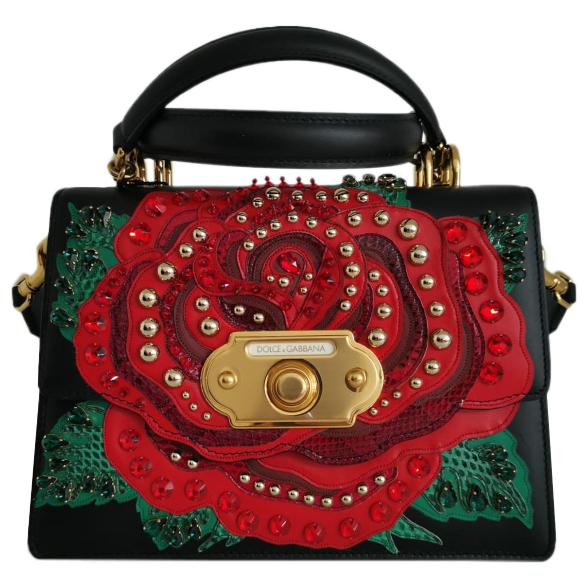 Dolce & Gabbana - Sac a main Welcome pour femme en cuir - multicolore