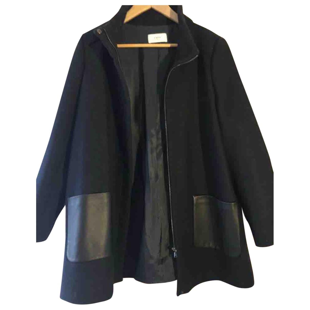 Zapa \N Navy Wool coat for Women 44 FR