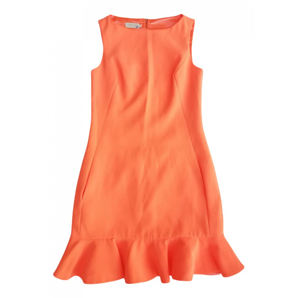 Ted Baker \N Kleid in  Orange Polyester