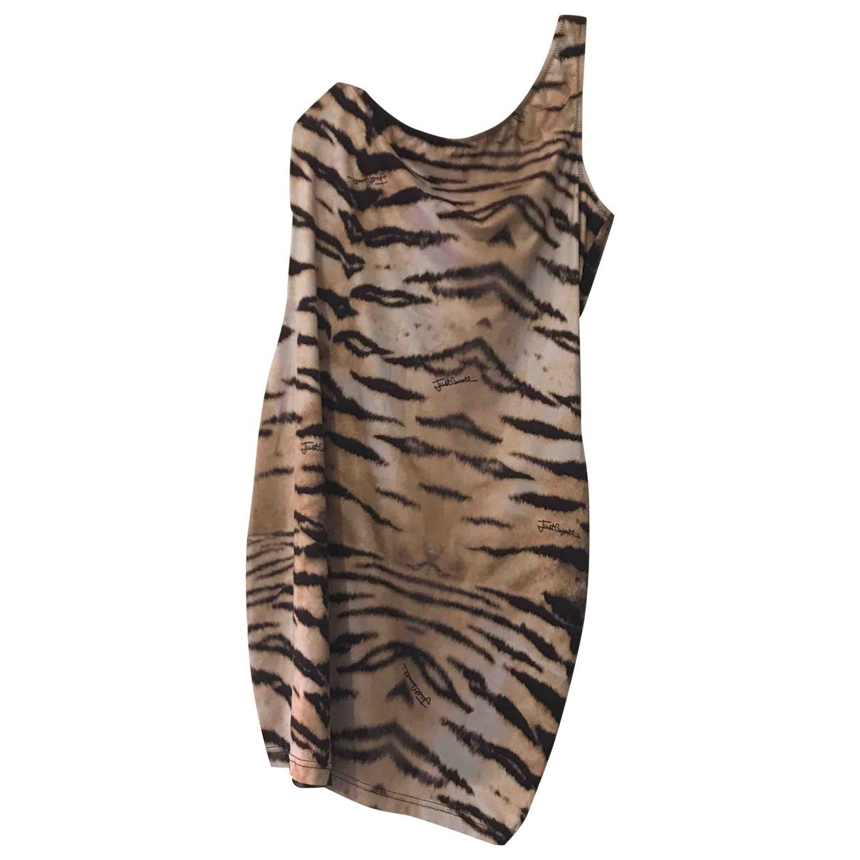 Just Cavalli \N Kleid in  Bunt Polyester
