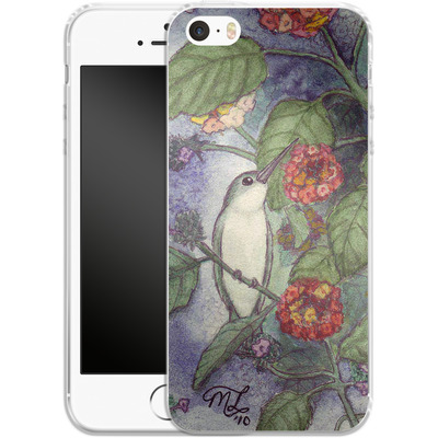 Apple iPhone 5s Silikon Handyhuelle - Mary Layton - Flying birds von TATE and CO