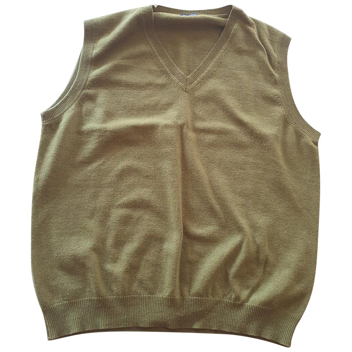 Malo \N Pullover.Westen.Sweatshirts  in  Gruen Kaschmir