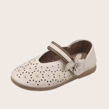 Kleinkind Maedchen Mary Jane Perforated Flats