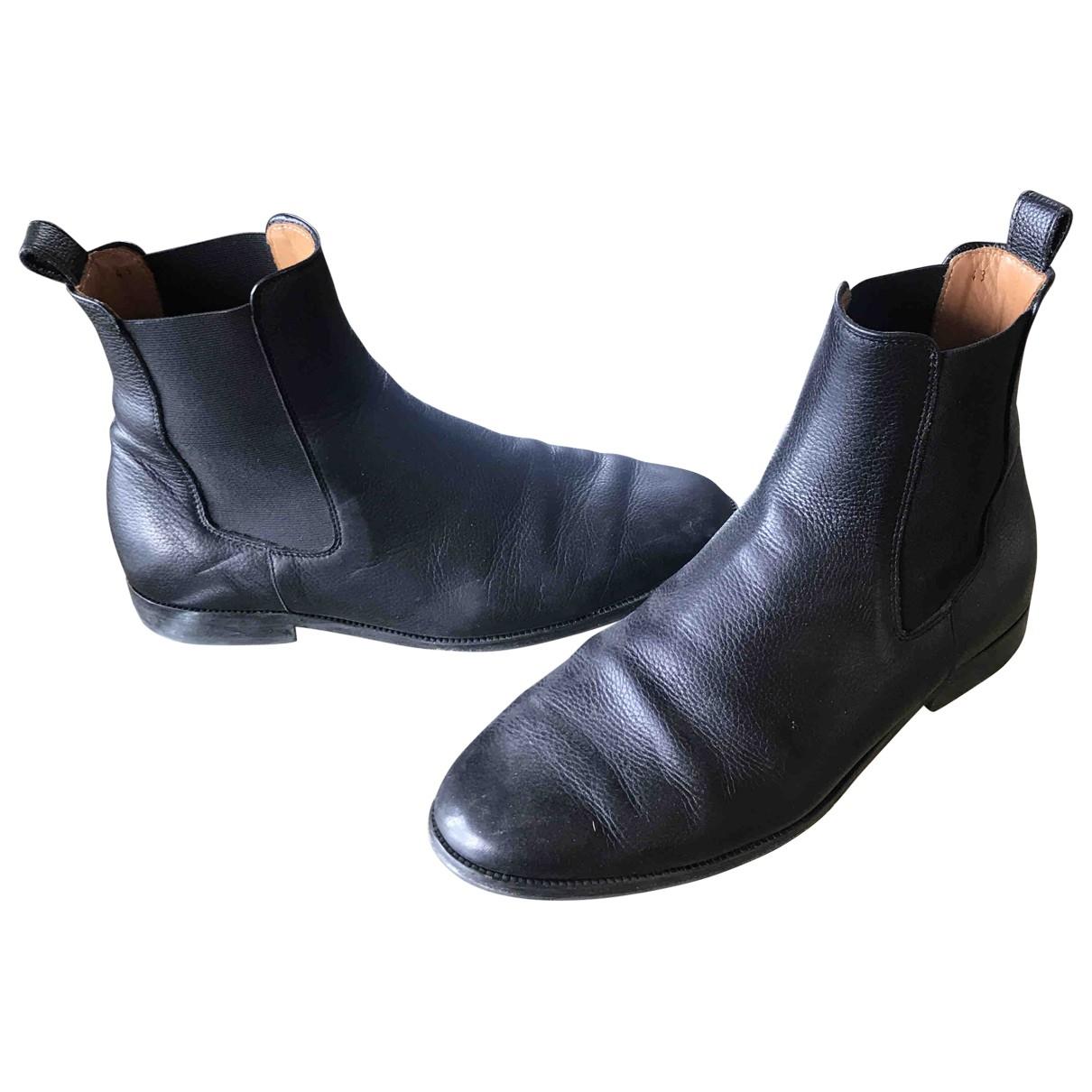 Bobbies \N Stiefel in  Braun Leder