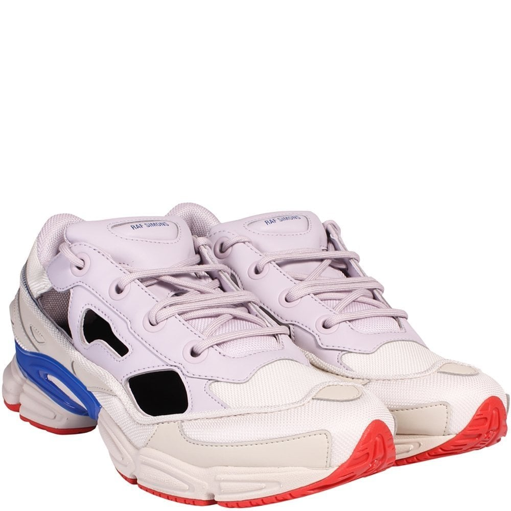 Adidas X RAF Simons Replicant Ozweego Trainers Brown & Cream Colour: CORE BROWN, Size: UK 7