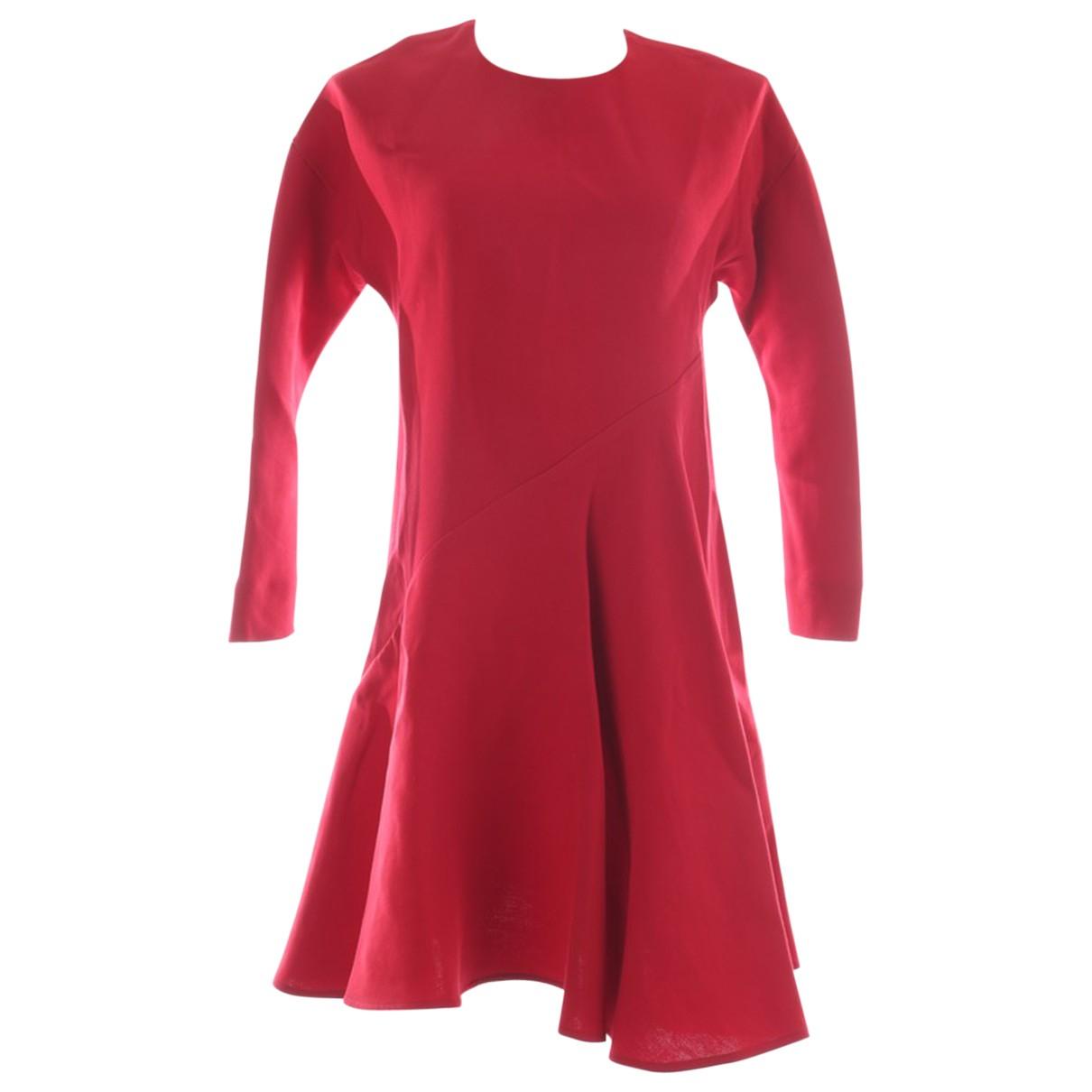 Marni \N Kleid in  Rot Seide