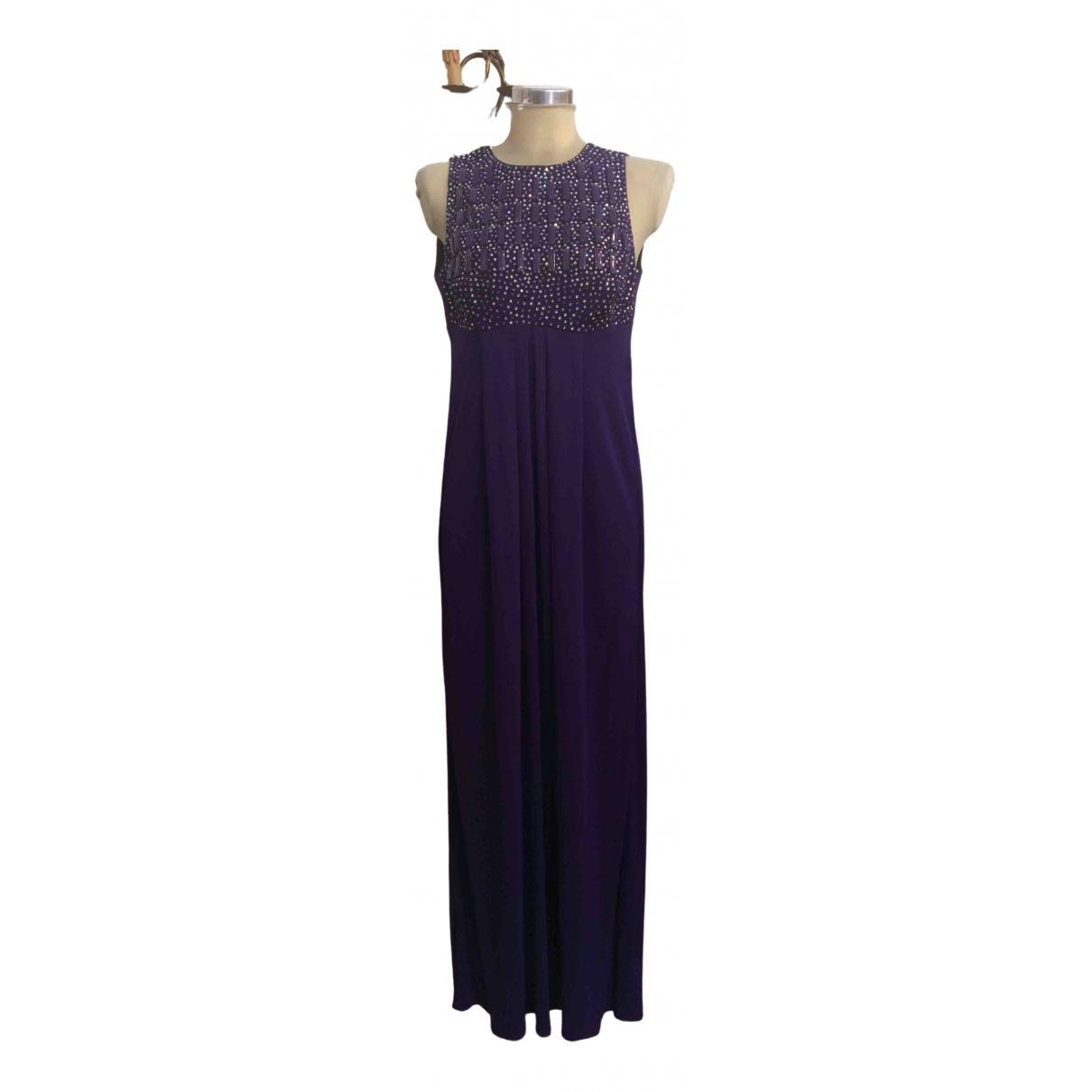 Blumarine \N Kleid in  Lila Viskose