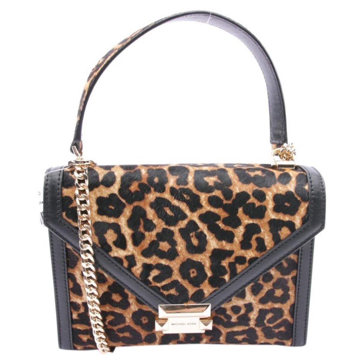 Michael Kors Whitney Black Fur Clutch bag for Women \N