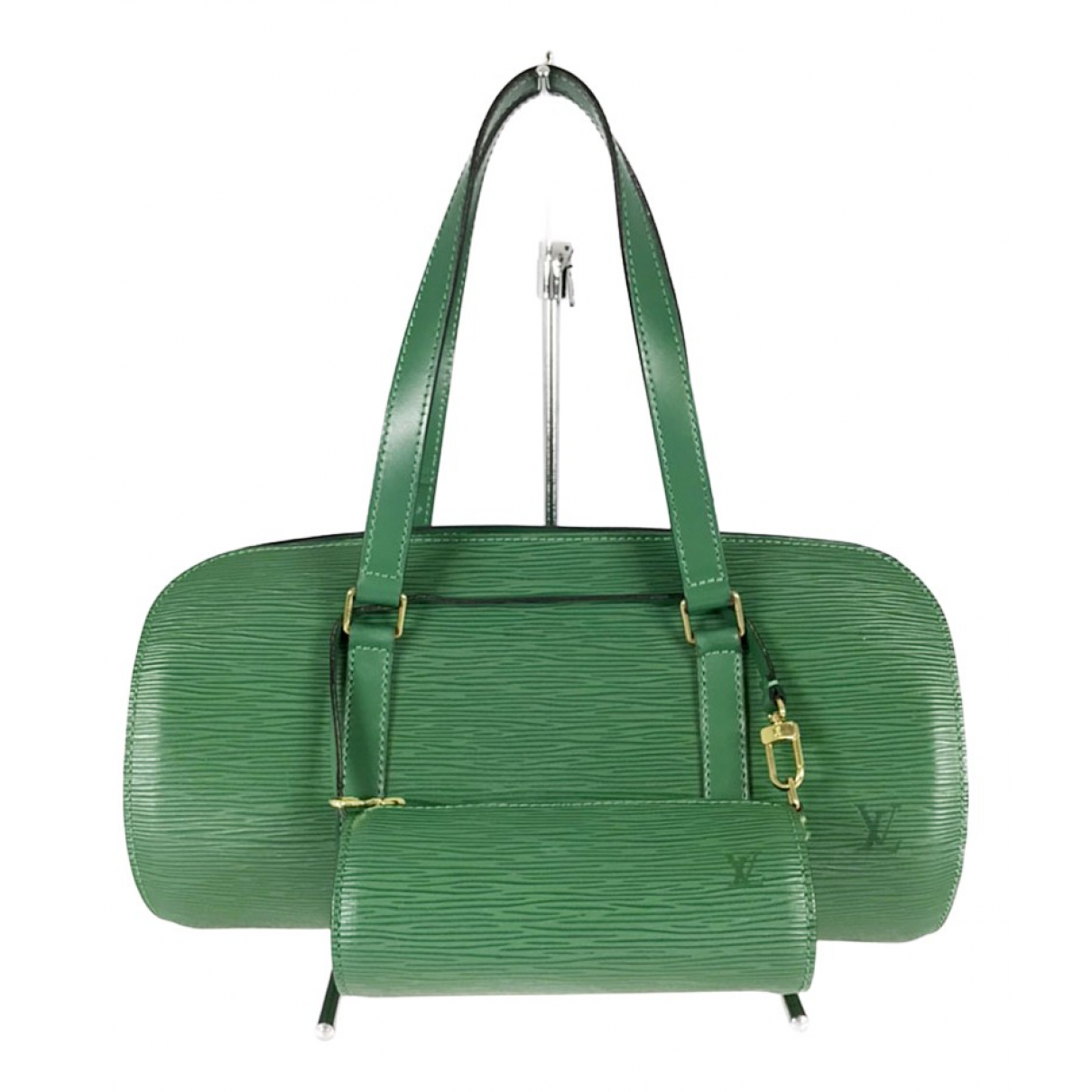 Louis Vuitton Papillon Green Leather handbag for Women \N