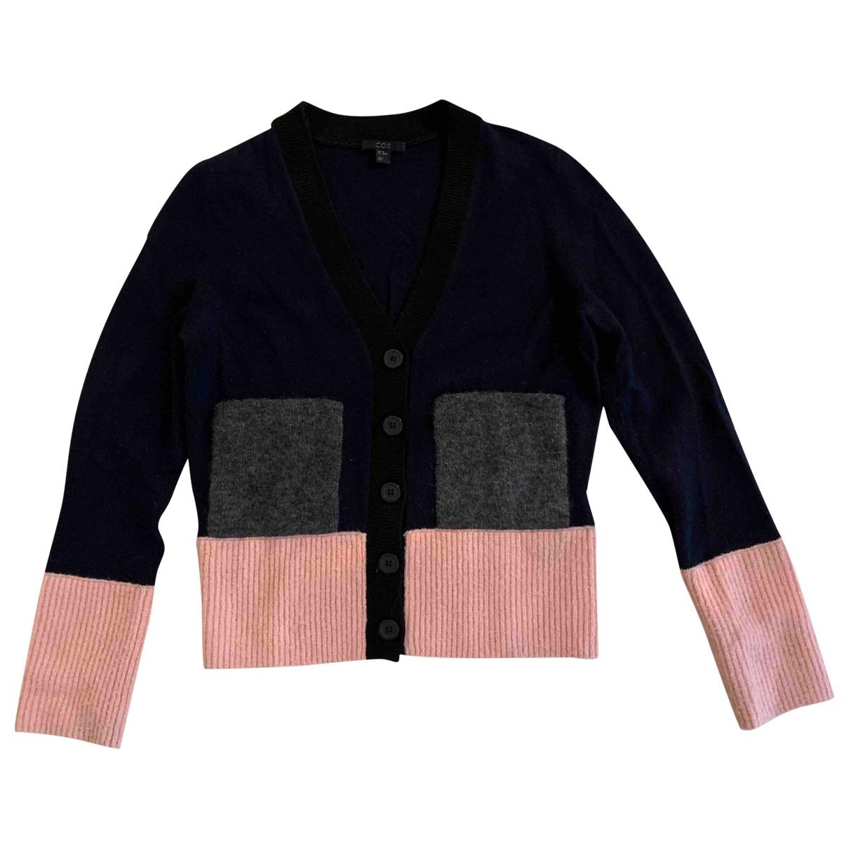 Cos - Pull   pour femme en laine - multicolore