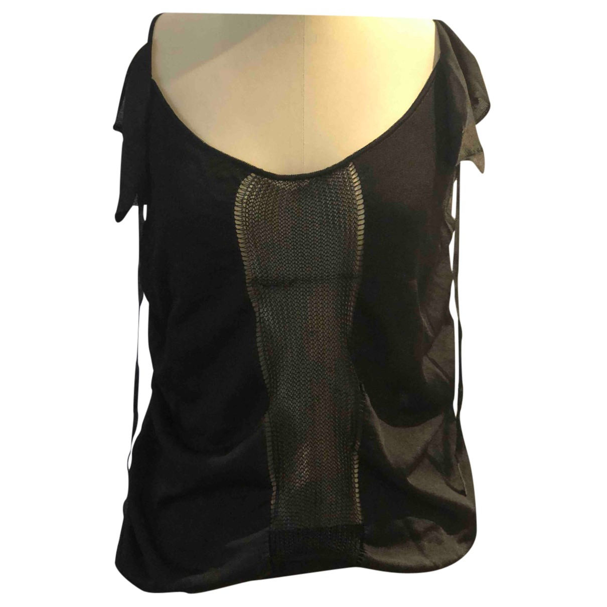 Christian Dior N Black  top for Women 40 FR