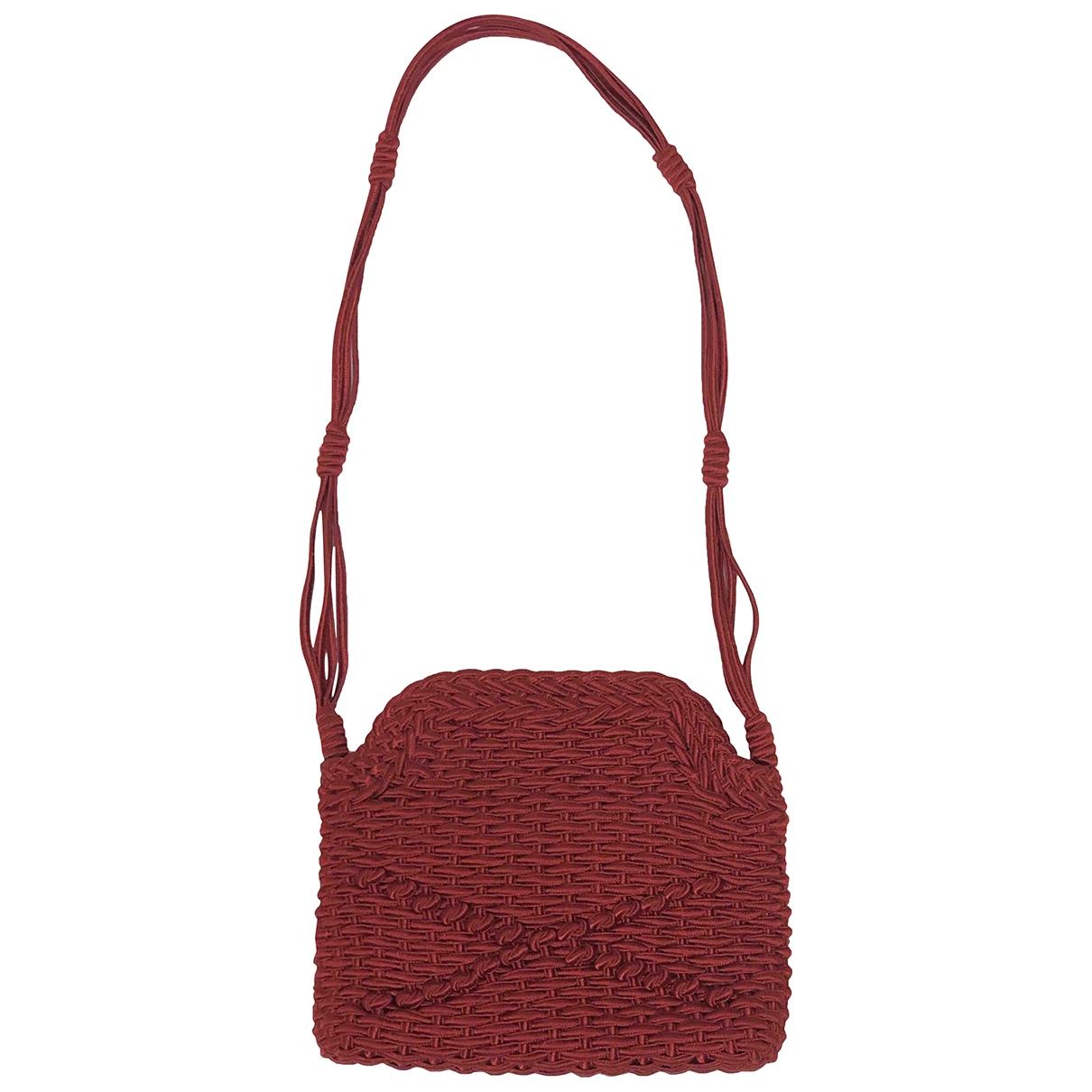 Alberta Ferretti \N Handtasche in  Rot Baumwolle