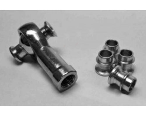 Steinjager J0014185 4 Pack HMBZC-16-8 High Misalignment Insert Plated Steel 1 inch x 0.5