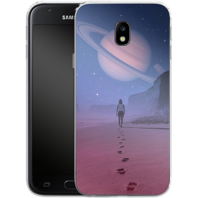 Samsung Galaxy J3 (2017) Silikon Handyhuelle - Glimpse of a Dream Wide von Enkel Dika