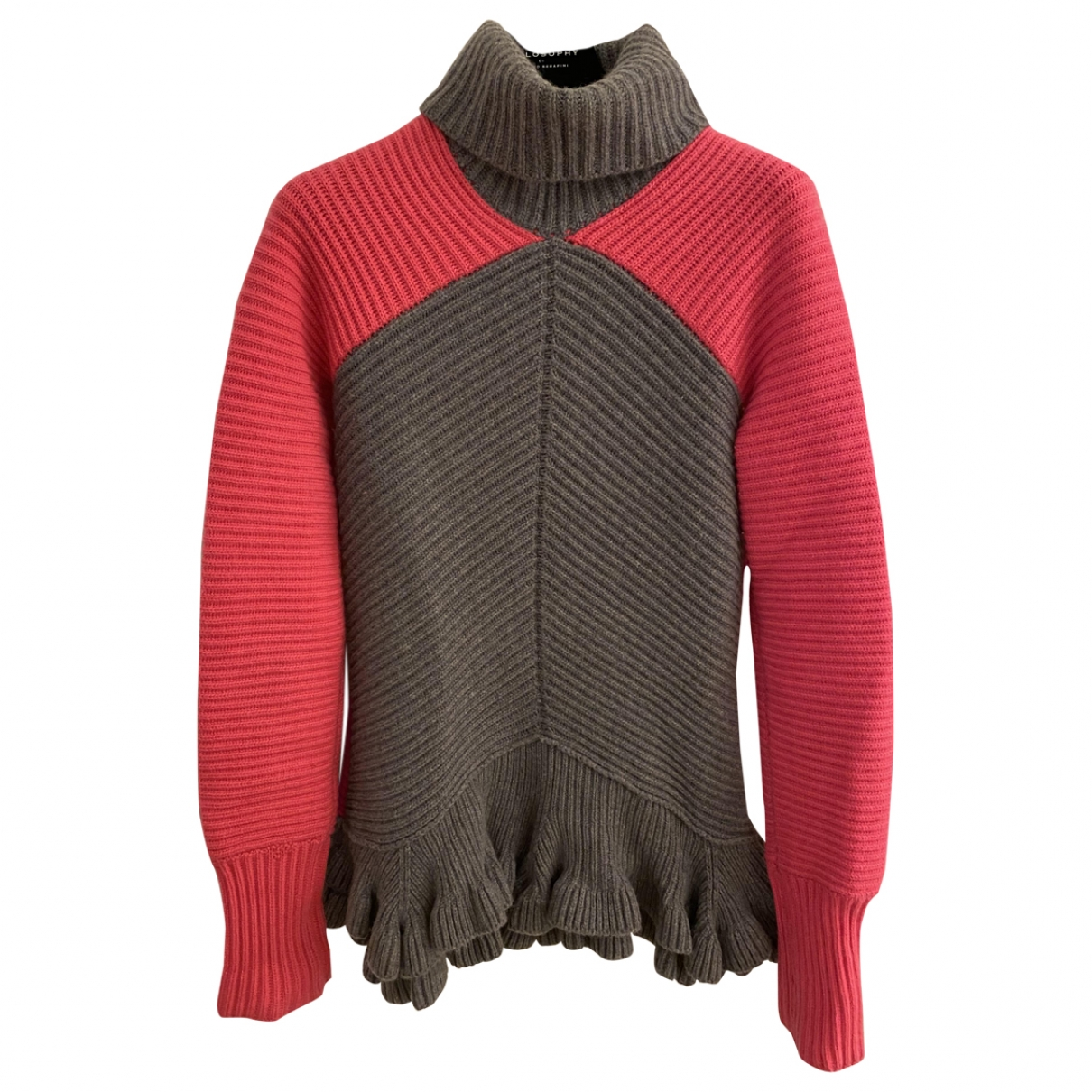 Antonio Berardi - Pull   pour femme en laine - multicolore