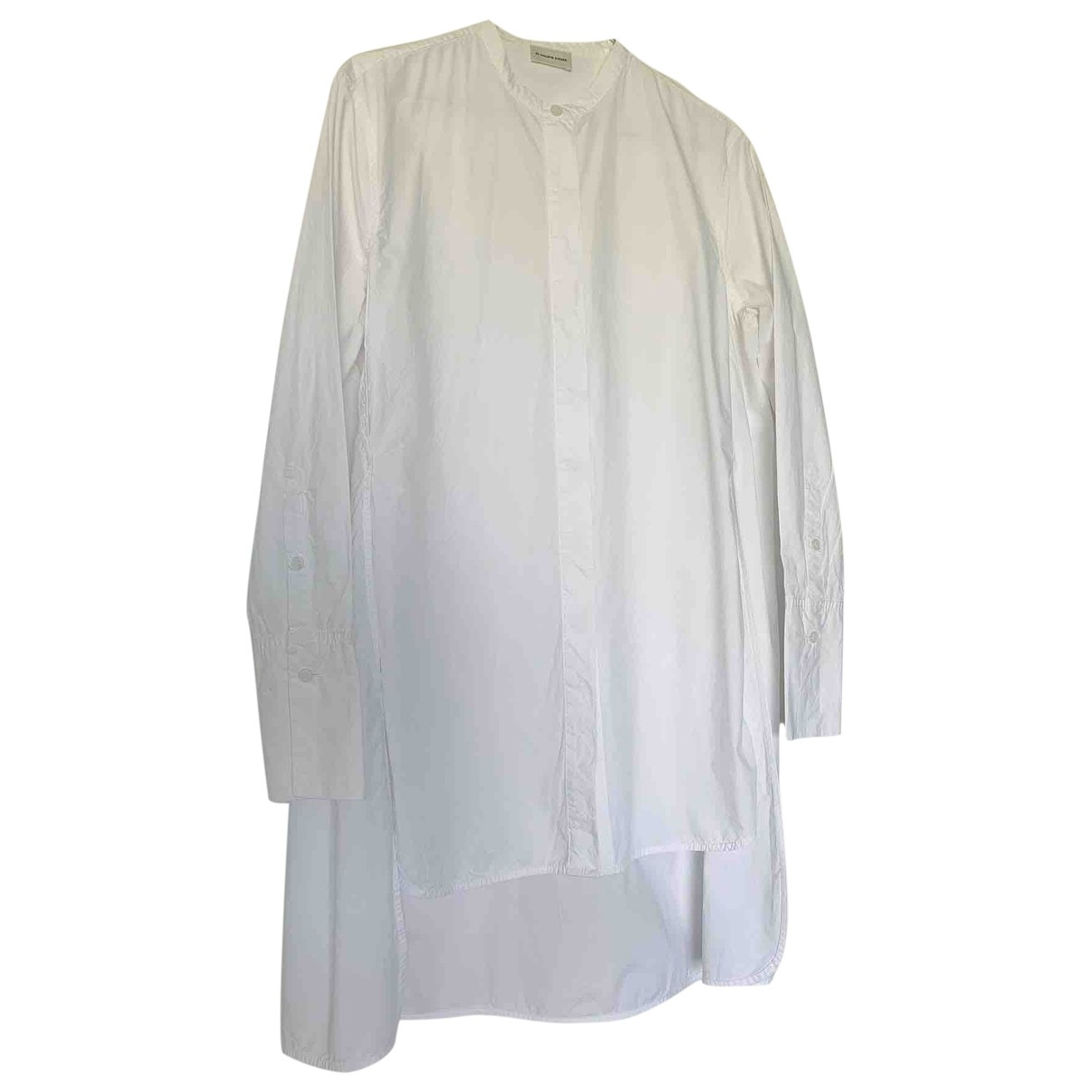 By Malene Birger \N White Cotton  top for Women XS International