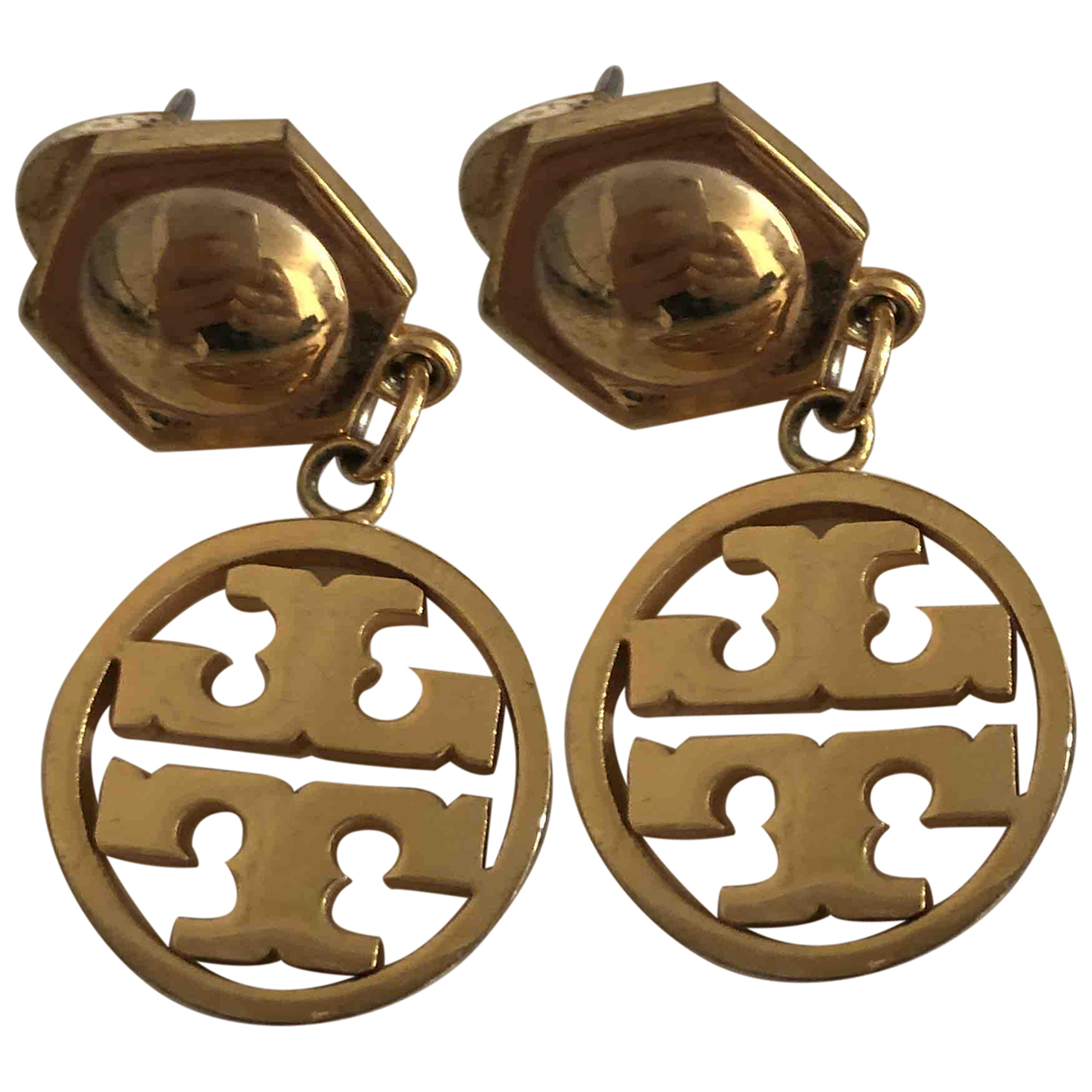 Tory Burch \N OhrRing in  Gold Metall