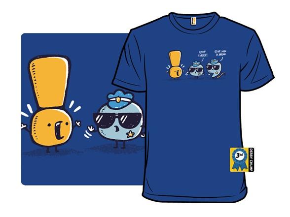 The Grammar Police T Shirt