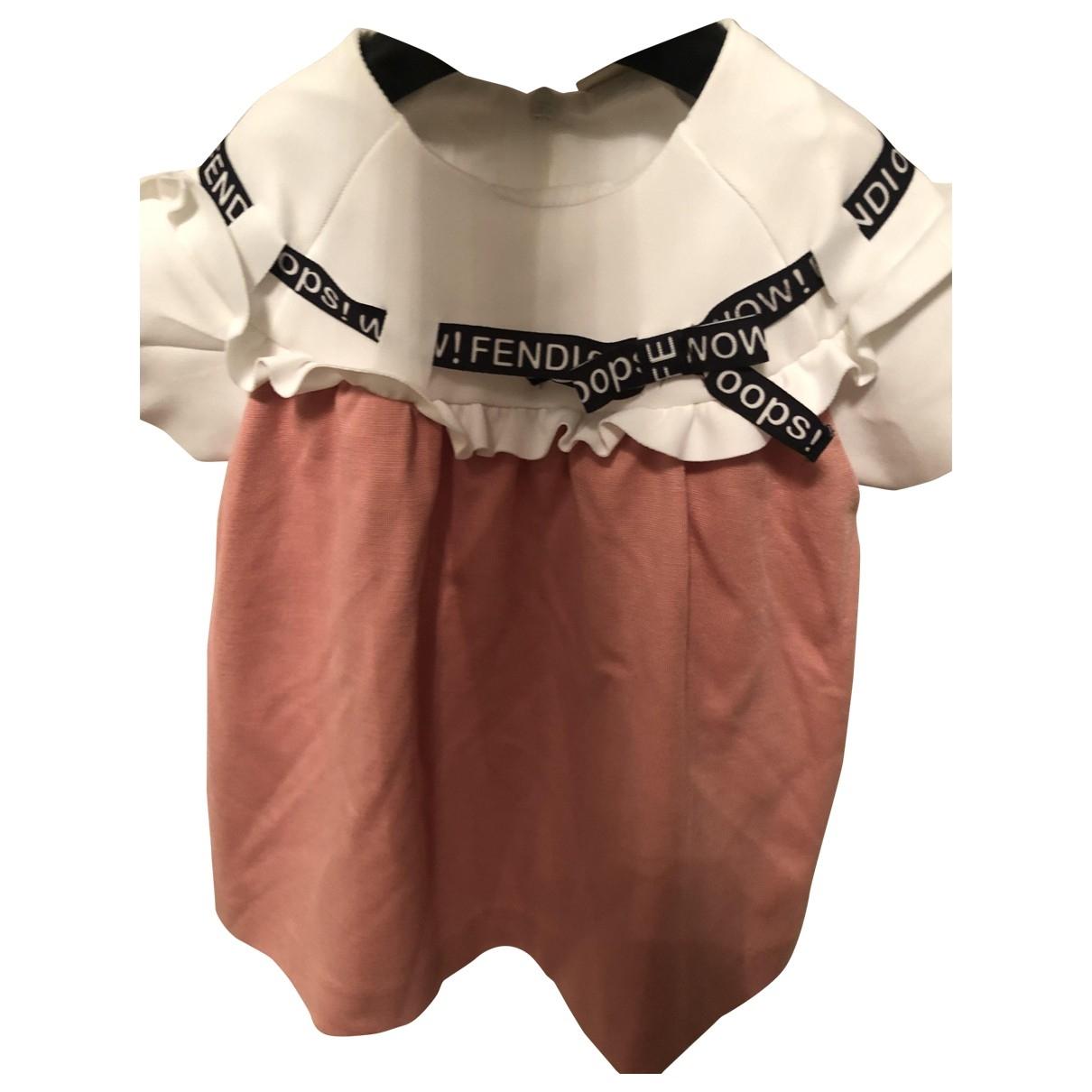 Fendi - Robe    pour enfant - rose