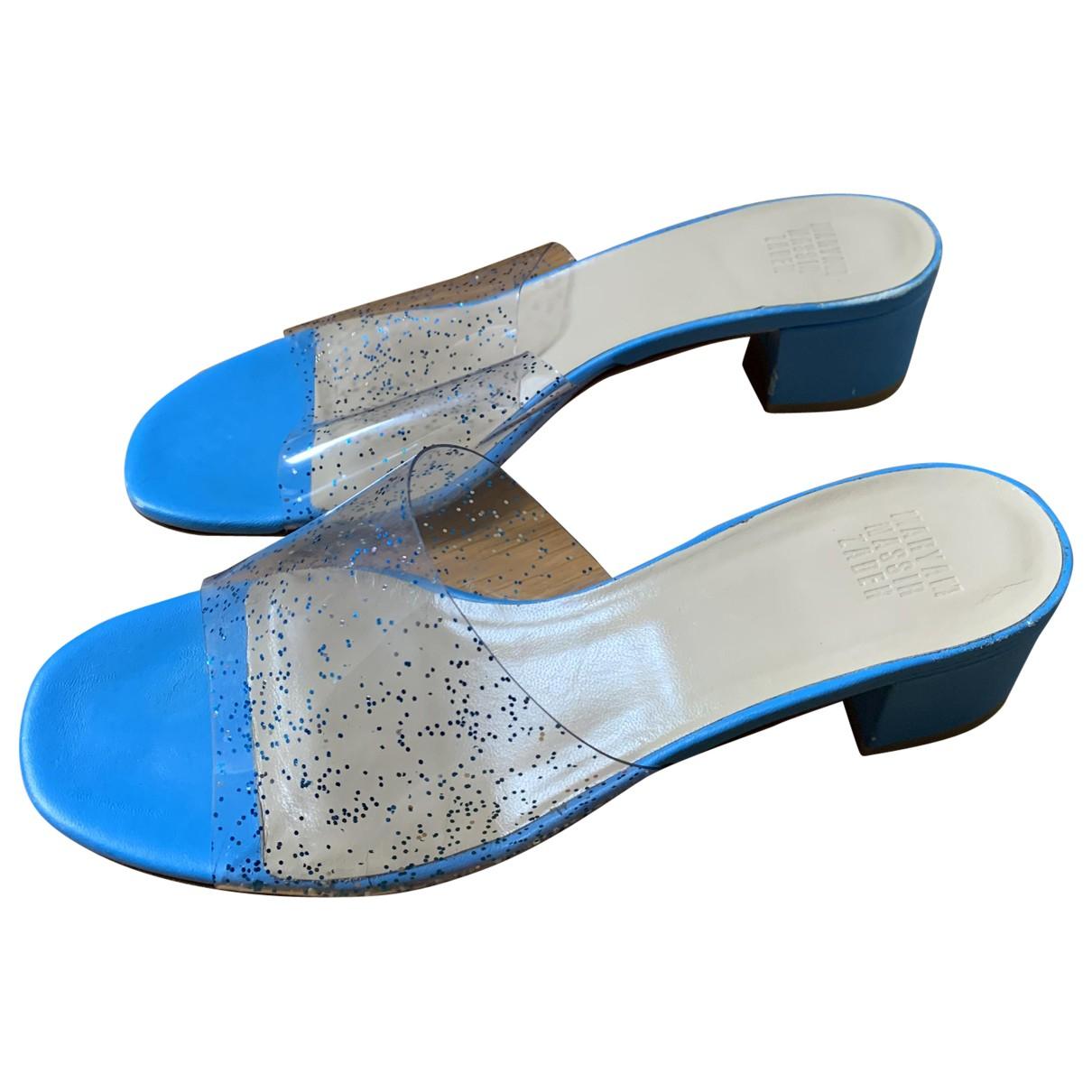 Maryam Nassir Zadeh \N Blue Sandals for Women 40 EU