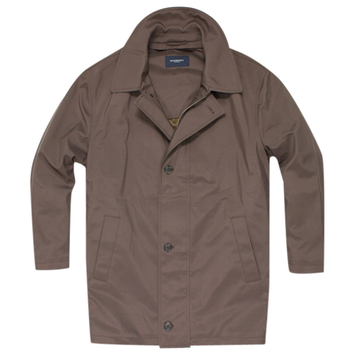 Burberry \N Maentel in  Braun Polyester