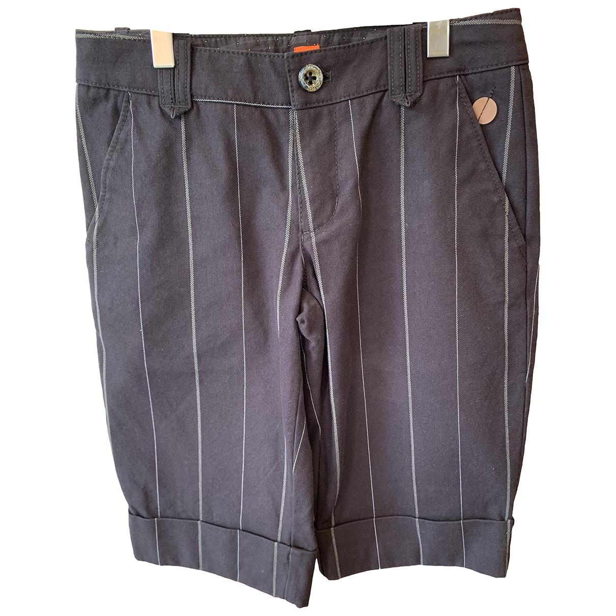 Boss - Short   pour femme en coton - marron